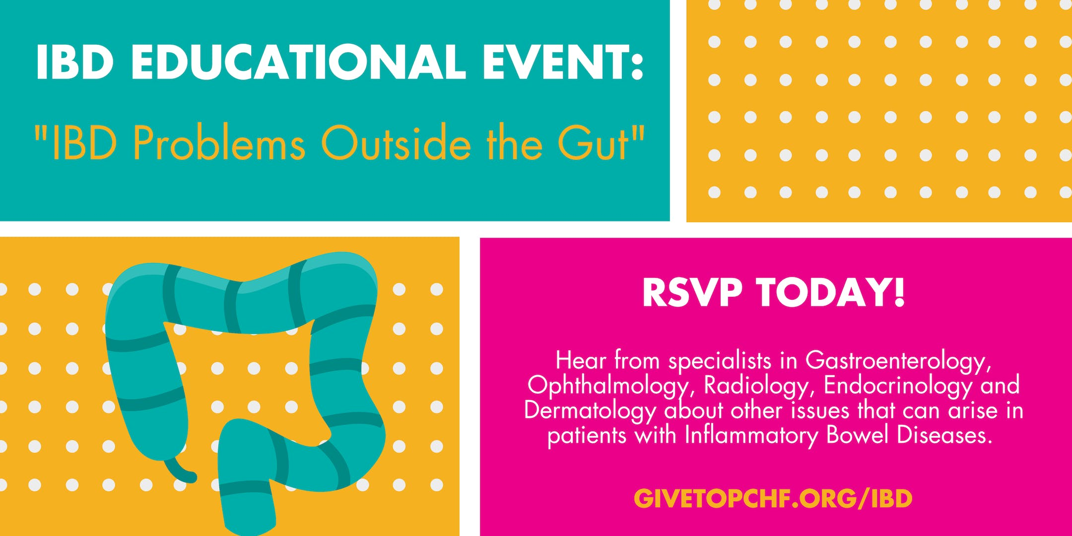 IBD Educational Event: Problems with IBD Outside the Gut