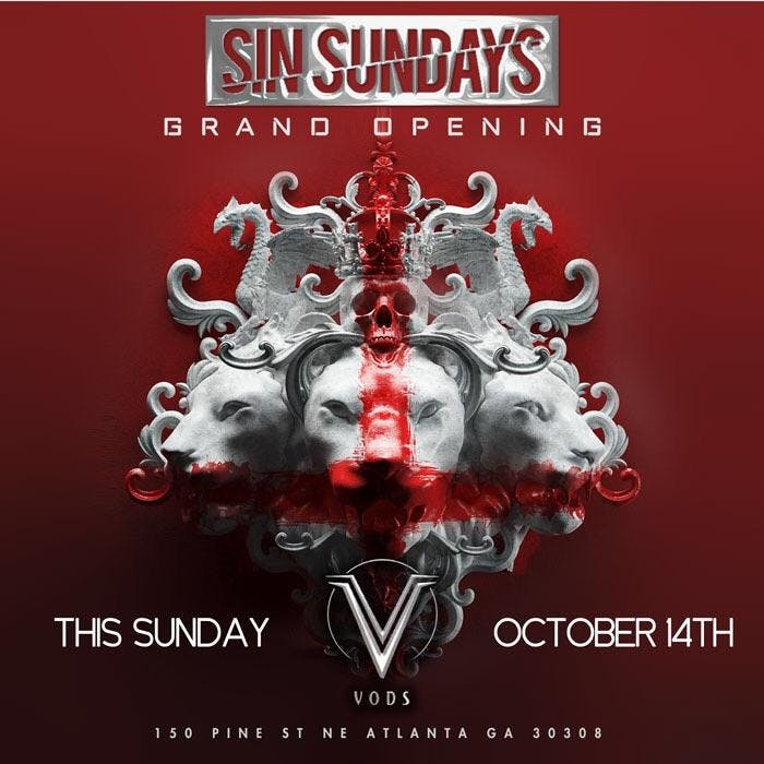SIN SUNDAYS AT JOSEPHINE LOUNGE