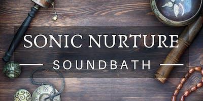 Sonic Nurture: Sound Bath