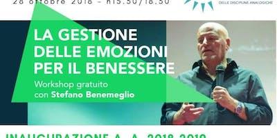 workshop Gratuito:La gestione delle emozioni per il benessere