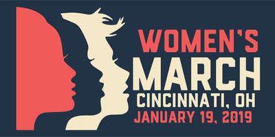 Women's March 2019 Cincinnati OH
