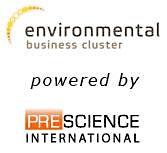 Environmental Business Cluster, powered by Prescience International logo