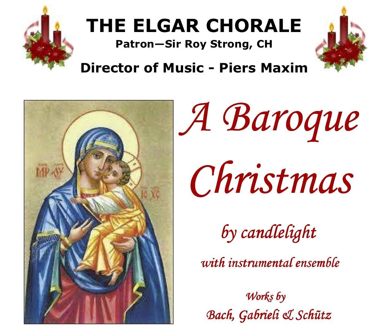 A Baroque Christmas by Candlelight - 15 DEC 2018