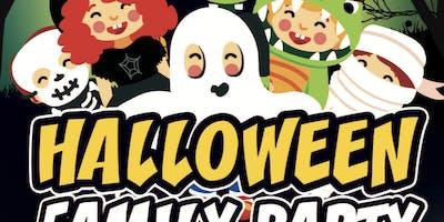 Halloween family party !! tutti in maschera grandi e piccini + cena