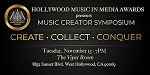 HMMA Music Creator Symposium & Showcase