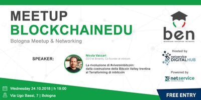 BOLOGNA - BlockchainEdu Meetup #1