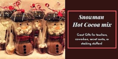 Snowman Hot Cocoa Mix