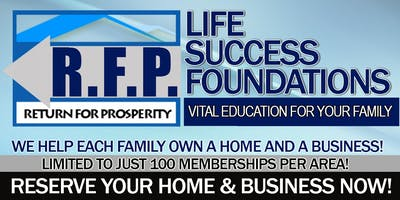 The RFP Program: Own Your Own House(s), Real Estate & Business - Limited!