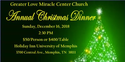 Greater Love Miracle Center Church Christmas Dinner 2018