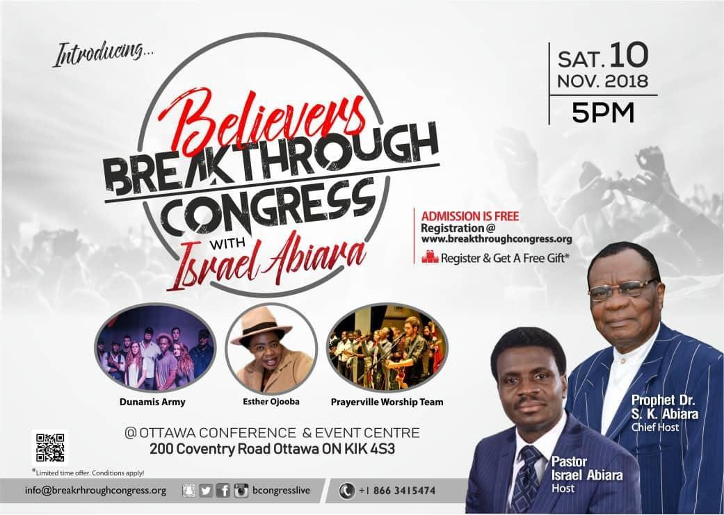 Believer's Breakthrough Congress