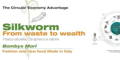 Economia Circolare Made in Italy: il baco da seta dal Fashion al Food
