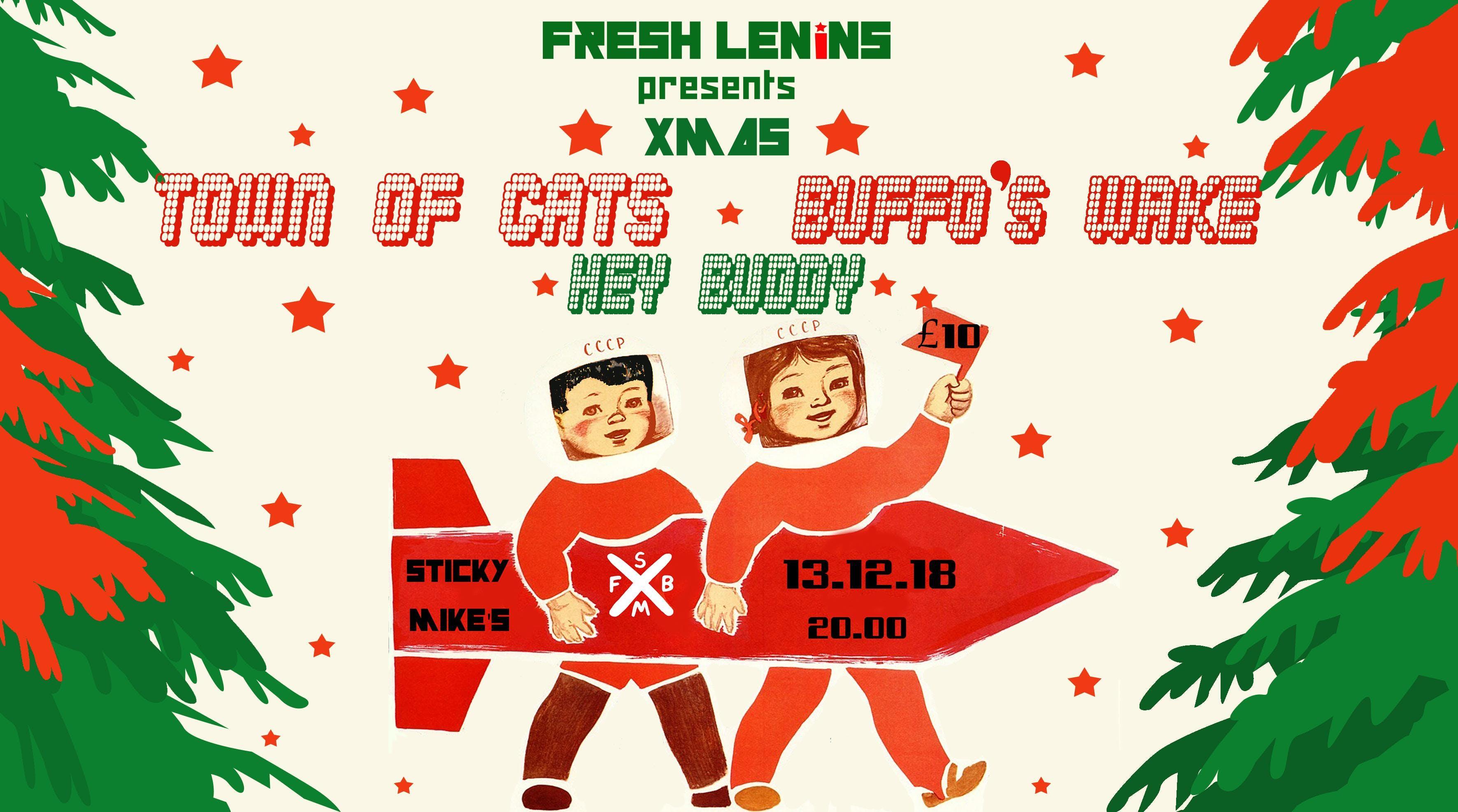Fresh Lenins presents XMAS