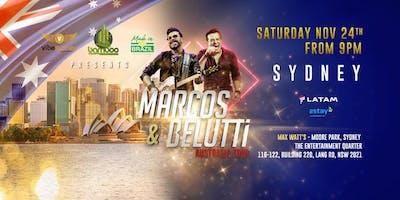 Marcos & Belutti (BRAZIL) AUSTRALIA TOUR 2018 (Sydney)