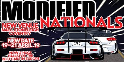 Modified Nationals Performance & Tuning Show. 19th-21st April 2019