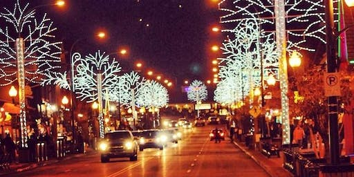 November 27 Gatlinburg Winter Magic Trolley Ride of Lights
