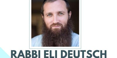 Rabbi Eli Deutsch at RAJE