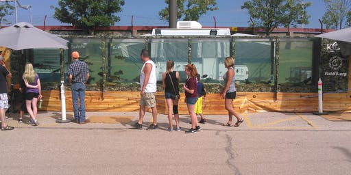 KDWPT Mobile Aquarium at the Kansas State Fair