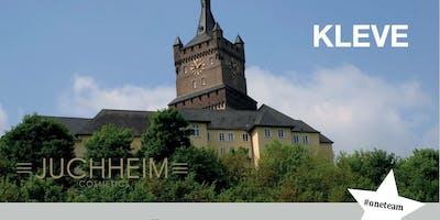 Dr. Juchheim Geschäftspräsentation in Kleve