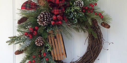 after hours design christmas wreath - H Mart Christmas Hours