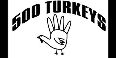 500 Turkeys Meal Distribution - Nov 17, 2018 | 11a-2p