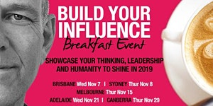 Canberra - Build Your Influence Breakfast Event -...