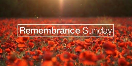 British & Commonwealth Remembrance Ceremony