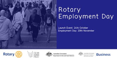 Rotary Employment Day - Hays Specialised Recruiting