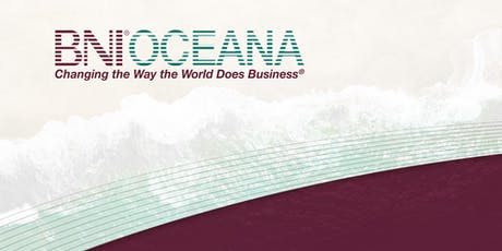 BNI Oceana - Business Networking Lunch tickets