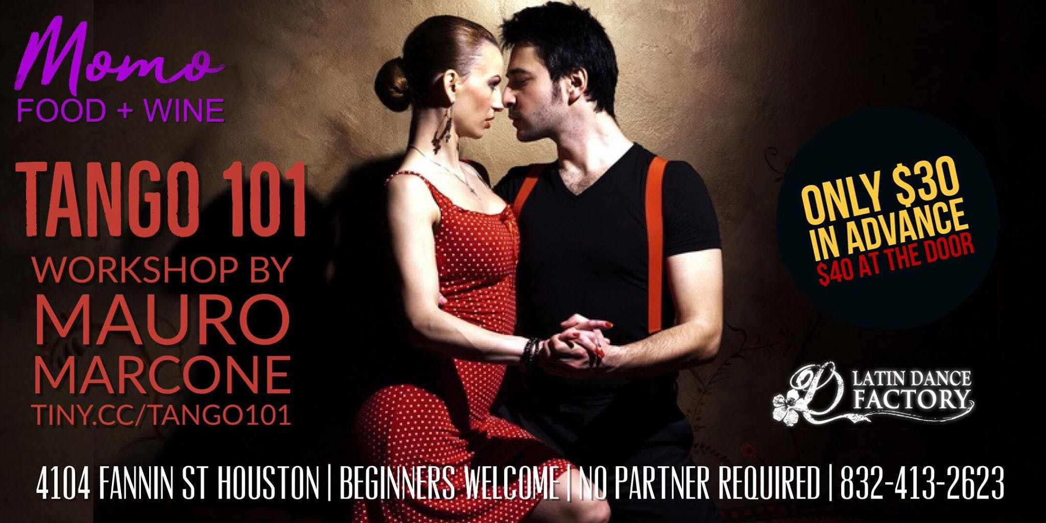 How to dance Argentine Tango Crash Course for Beginners in Houston