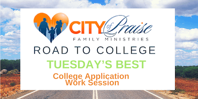 Tuesday's Best College Application Work Sessions