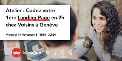Atelier Pratique chez Voisins - Codez votre 1ère Landing Page en 2h