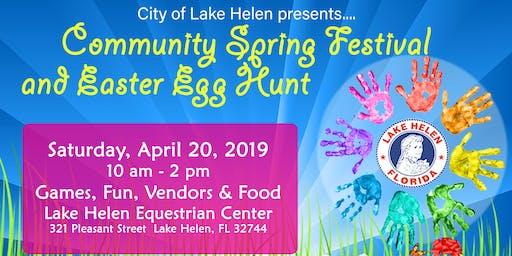 Lake Helen Community Spring Festival Easter Egg Hunt