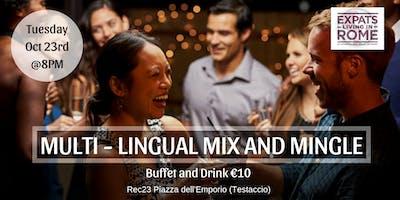 Rome Expats: Multi-Lingual Mix & Mingle in TESTACCIO
