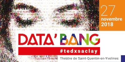 TEDxSaclay 2018 - DATA\