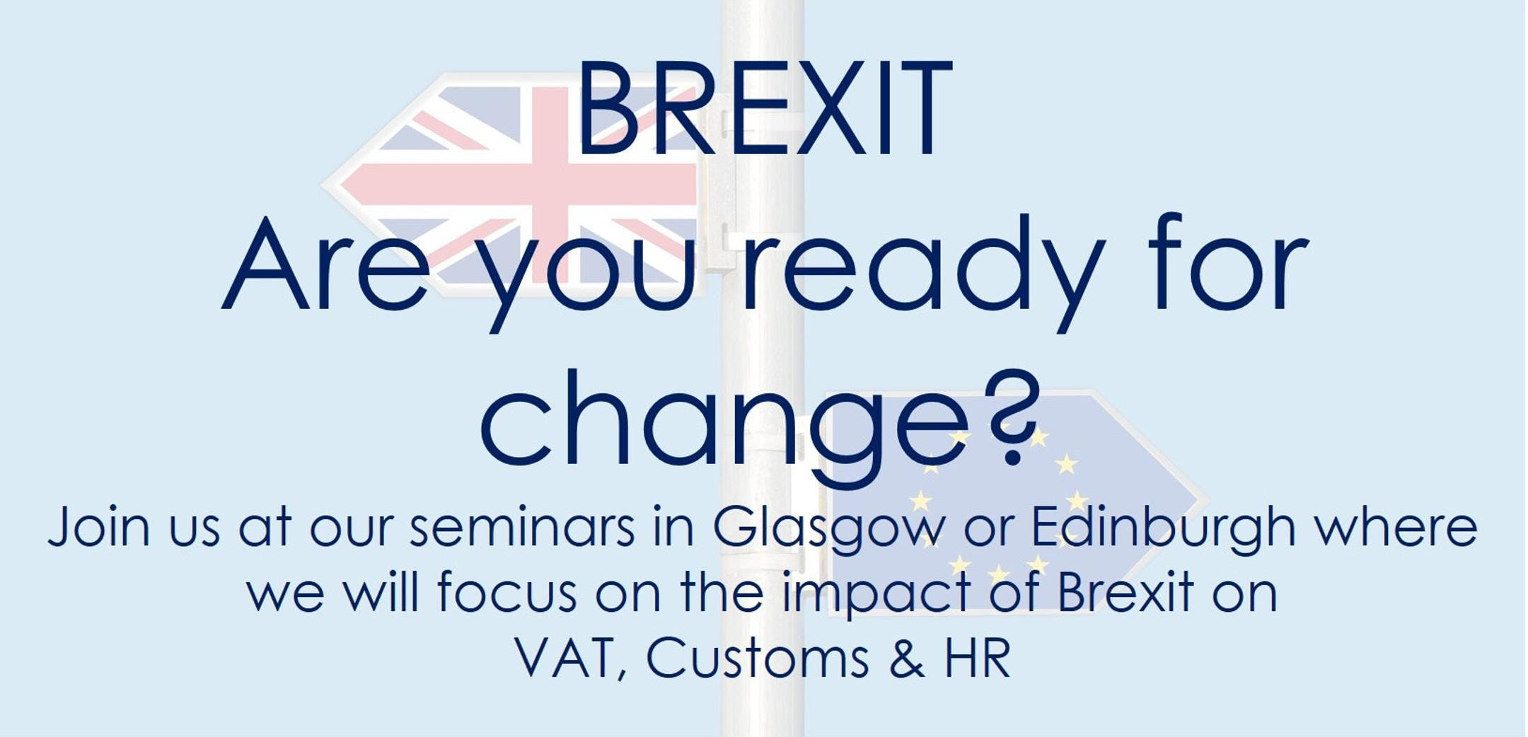French Duncan Brexit seminar - Glasgow