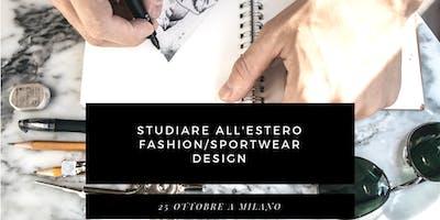 Studiare Fashion all'estero - 25 ottobre, Anteo Palazzo del Cinema