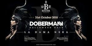 DOBERMAHN /LE DAME NOIRE - Halloween night VENEZIA
