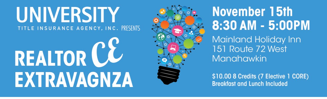 8 CE Credit Day for Realtors at the Mainland,