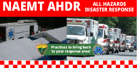 ALL HAZARDS DISASTER RESPONSE (AHDR) tickets