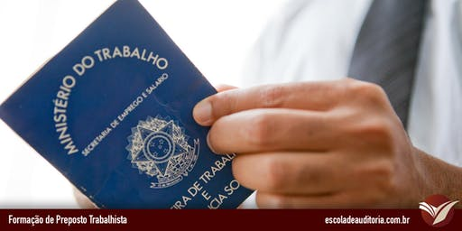 Curso de Gestão de Riscos Trabalhistas com Controles Internos - Porto Alegre, RS - 25 e 26/jun