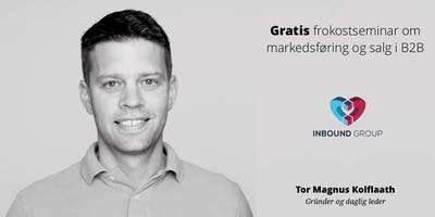 Gratis frokostseminar: Inbound marketing og salg