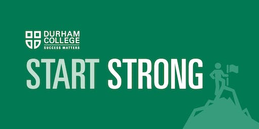 Start Strong - Whitby campus - Tuesday, December 10