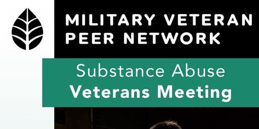 Substance Abuse Veterans Meeting