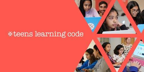 Teens Learning Code: Teen Hackathon - Saskatoon tickets