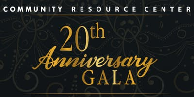 Community Resource Center Annual Gala 2018 - Thursday, December 6th