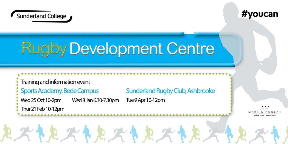 Rugby Development Centre Training And Information Event Registration Tue 9 Apr 2019 At 1000