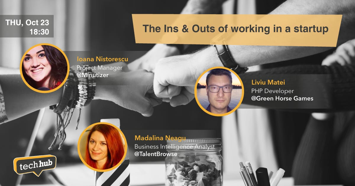 The Ins & Outs of working in a startup