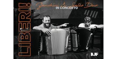 Condimenti Jazz | LIBERI...! ZANCHINI & SALIS DUO in concerto