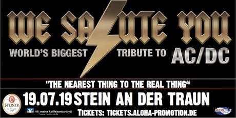 We Salute You AC/DC Tribute Tickets