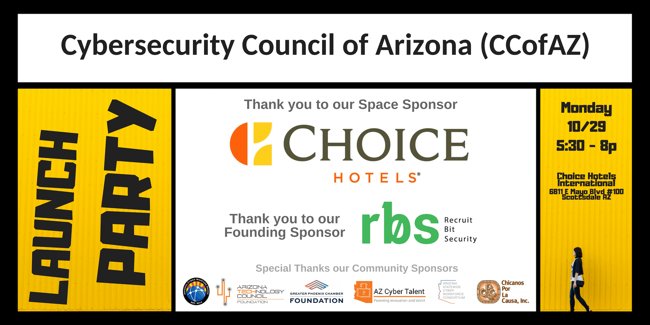 Launch Party: Cybersecurity Council of Arizona